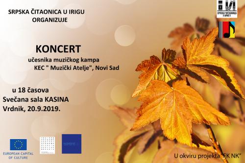Koncert Vrdnik 2019