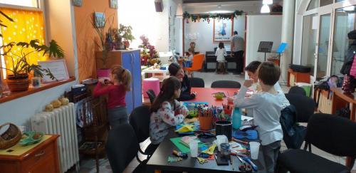 Novogodišnja muzička radionica u ateljeu